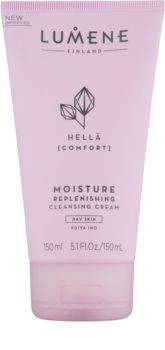 Lumene Cleansing Hellä [Comfort] cremă hidratantă pentru curățare pentru tenul uscat